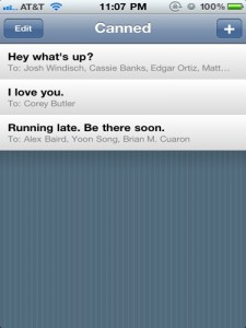 QuickAdvice: Canned - Refreshment For Quick Texting Templates