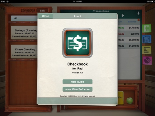 QuickAdvice: Ditch The Old Checkbook For Good And Replace It With CheckBook for iPad