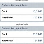 How Much Data Does FaceTime Burn Over 3G