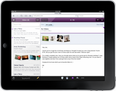 Yahoo! Mail Joins The HTML5 Club