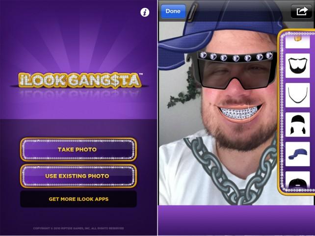 Do You Look Gangsta? Nah, iLookGangsta