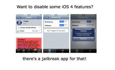 Want To Disable Multitasking Or Custom Backgrounds?