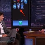 "Footage: Justin Long (AKA ""I'm A Mac"" Guy) & His Jailbroken iPhone"