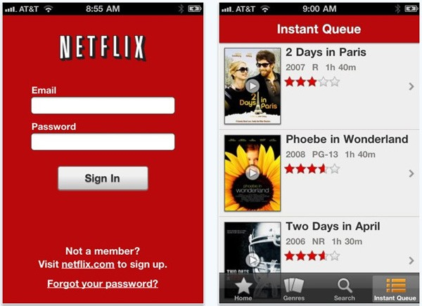 Netflix Goes Universal, Now Available On The iPhone