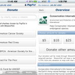 PayPal Update Makes Donating Easy, Adds More Account Control Features