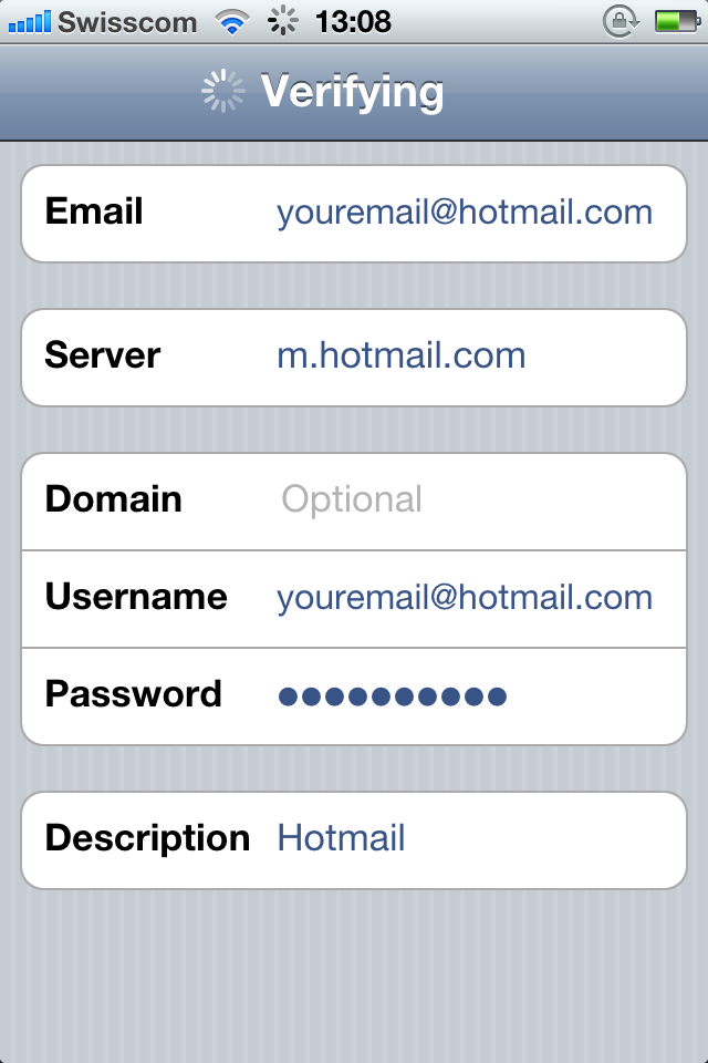 Hotmail Gets Exchange Support - Adds Push Email, Calendar & Contacts To iOS