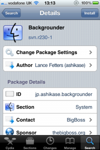 Jailbreak Only: Backgrounder Due For An Update - New Features Will Be Added