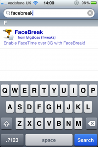 Jailbreak Only: FaceBreak - Another Way To Use FaceTime Over 3G