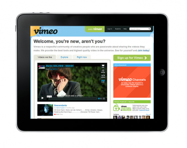 Vimeo Fully Embraces HTML5 - Check It Out On Your iDevices Now!