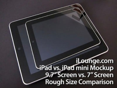 """Rumor: 7 Inch iPad Now A """"Finished Product"""""""