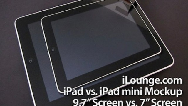 "Rumor: 7 Inch iPad Now A ""Finished Product"""