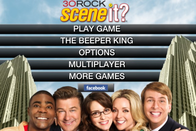 Scene It? 30 Rock For iPhone And iPad Arrives In Time For The Season Premiere