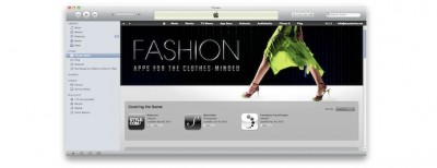 "New ""Fashion"" Section Appears In App Store"