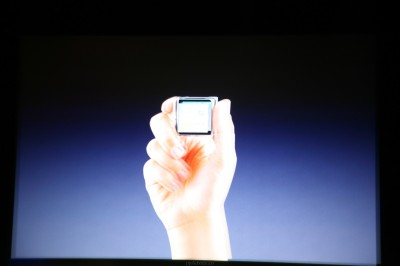 Apple Announces New Touchscreen iPod Nano