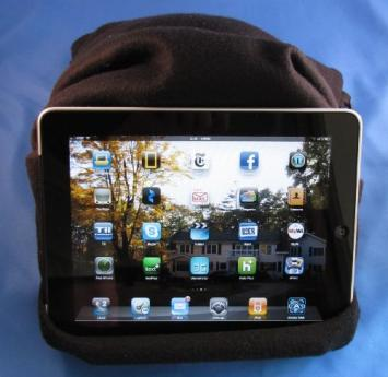 Comfort Anywhere For You & Your iPad With The iPad Pillow Stand