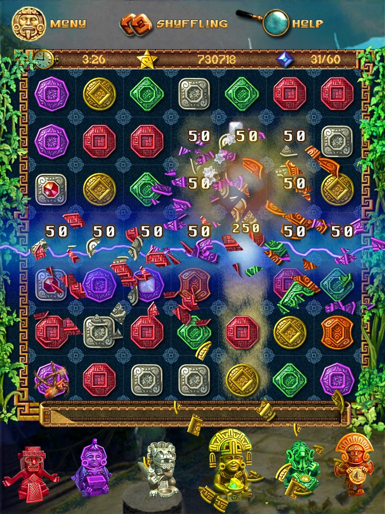 Review: The Treasures Of Montezuma HD - Stop Waiting For Bejeweled HD?