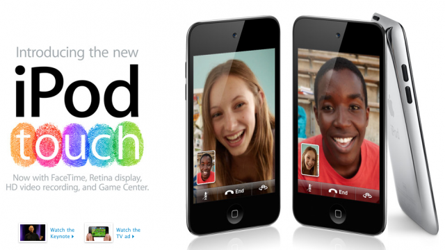 Apple Store Goes Online: Get Your New iPod Now!
