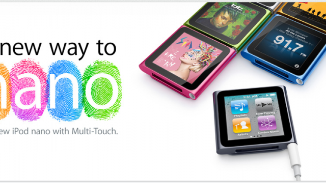 Apple: New Touchscreen iPod Nano Does Not Run iOS