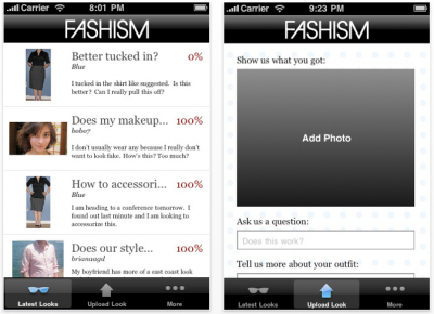 Fashism Mobile - Get Quick Fashion Advice On The Go