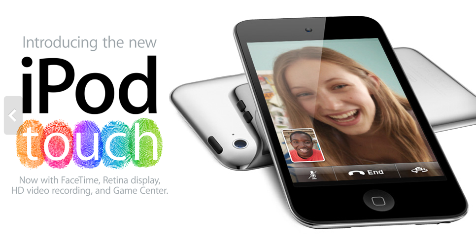Apple's Latest Touchable iPod Released Today