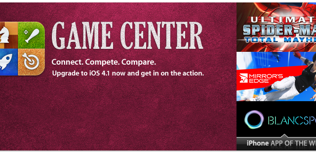 App Store Now Has A New Game Center Section