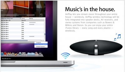 iHome Utilizes Apple's AirPlay In Recently Announced Speaker Dock