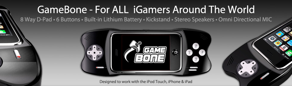 GameBone iPhone Controller Coming Soon!