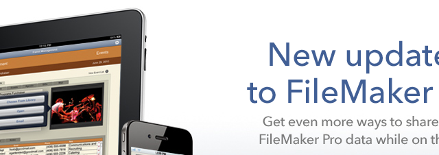 FileMaker Go Updated - PDF Creation And Photo Import Added