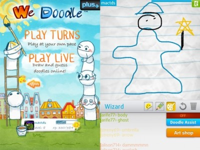 Sneak Peek: Hands On With Ngmoco's Take on Pictionary We Doodle