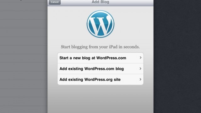 WordPress iOS App Gets Updated - Now Lets You Post Videos