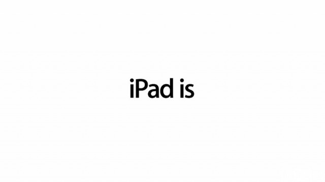 Apple Releases New iPad Ad: iPad Is Musical