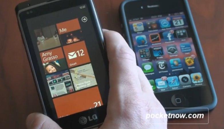 Video: iPhone 4 & Windows Phone 7 Compared