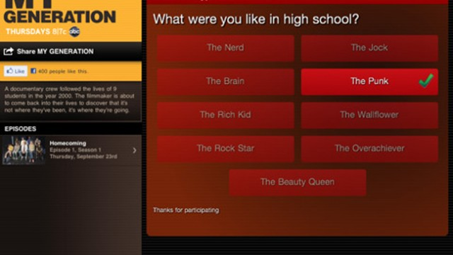 Get Interactive With Your TV Show Watching Using ABC's My Generation Sync For iPad