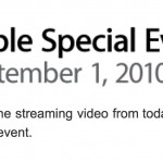 The Full Video Presentation Of Apple's September 2010 Special Event Is Now Available