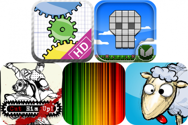 iPhone And iPad Apps Gone Free: Geared For iPad, Gravity Runner, Cut Him Up! And More