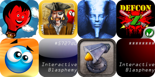 iPhone And iPad Apps Gone Free: iArrPirate, Flight Doodle, Egypt The Prophecy, And More
