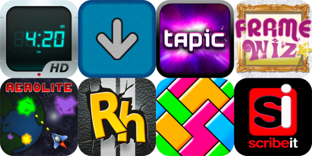 iPhone And iPad Apps Gone Free: Night Stand HD, MentalBlock, Tapic, And More