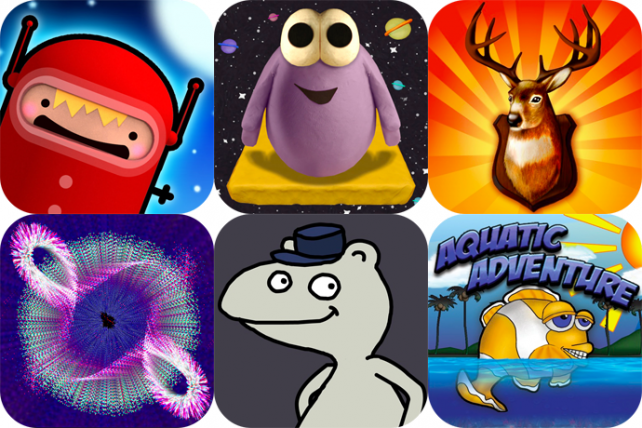 iPhone And iPad Apps Gone Free: Cannon Cadets, OddBlob, Deer Hunter 3D, And More