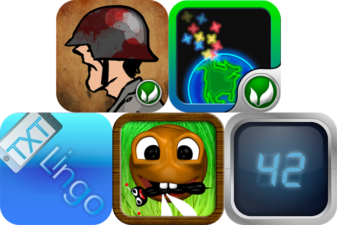 iPhone And iPad Apps Gone Free: 100 Nazi Scalps, Gravitation Defense, Txt Lingo, And More