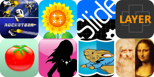 iPhone And iPad Apps Gone Free: Rocketeer, MyCalculator, Slideshot, And More