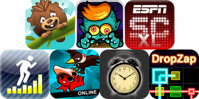iPhone And iPad Apps Gone Free: Rescue Pine, Monster Mayhem, ScoreCenter XL, And More