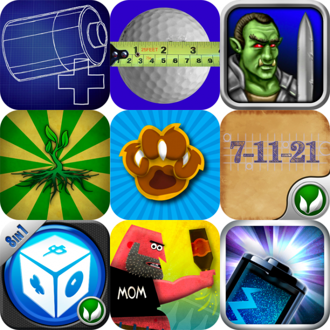 iPhone And iPad Apps Gone Free: Battery Go! Plus, Tee Shot Tape Measure, Warlords, And More