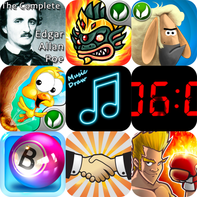 iPhone And iPad Apps Gone Free: The Complete Edgar Allan Poe, Atlantis, Farm Break And More