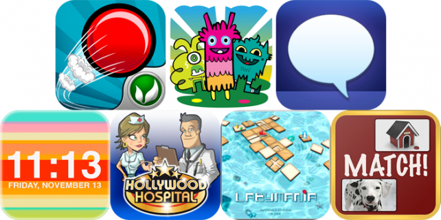 iPhone And iPad Apps Gone Free: Fastball 2, Inkstrumental, Hollywood Hospital And More