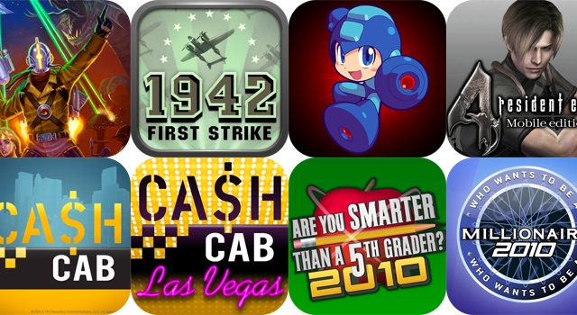 Capcom Drops Eight iPhone Games To $.99 For A Limited Time