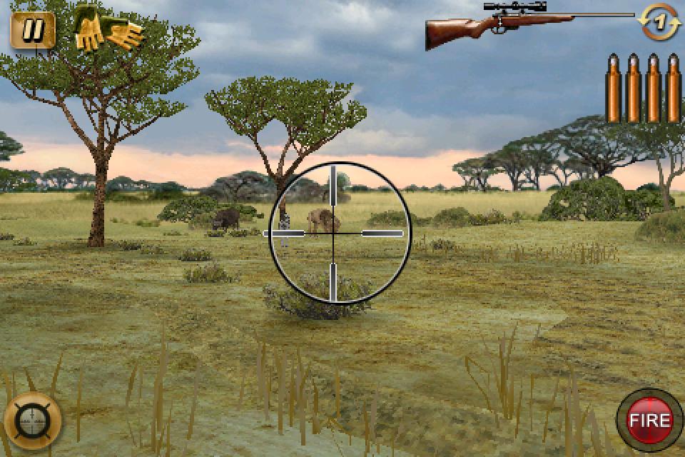 Deer Hunter: African Safari Gains Gyroscope Support; On Sale For $.99