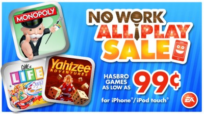 """EA Celebrates Labor Day Weekend With A """"No Work, All Play"""" Sale"""
