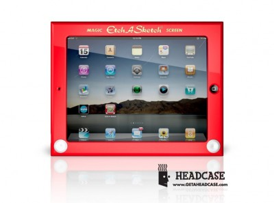 Etch A Sketch iPad Case - The Coolest Case Ever?