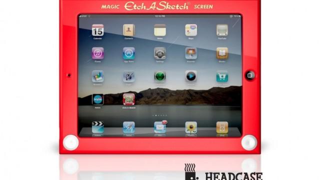 Etch A Sketch iPad Case - The Coolest Case Ever?