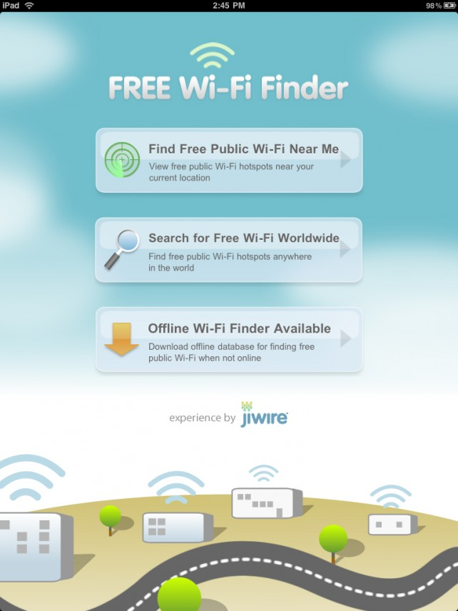 Free Wi-Fi Finder Goes Universal With Some Additional Improvements